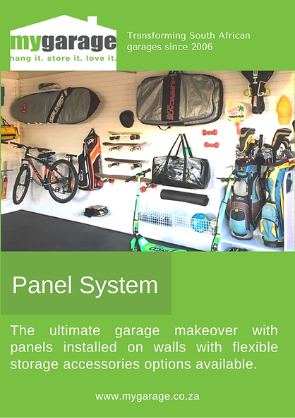 Create a tidy and organised garage space