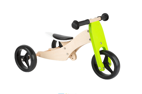 Tricycle small foot 10 inch 2 in 1