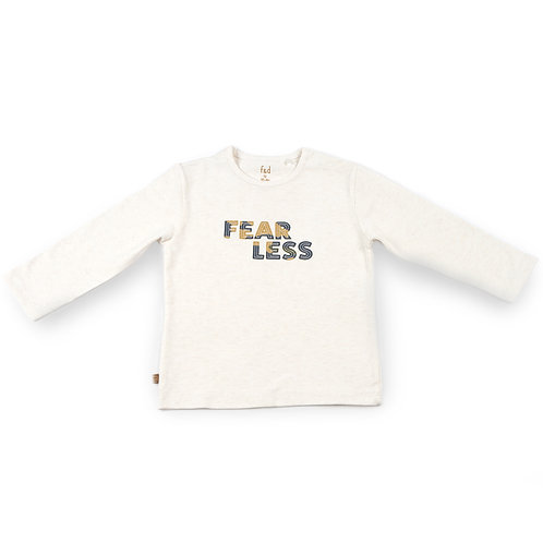 f&d shirt fearless off white