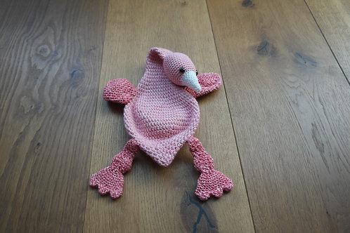 Lappenpop flamingo (groot)