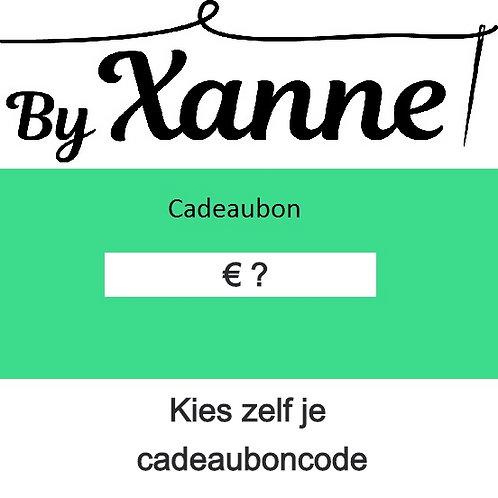 Cadeaubon €5-€100