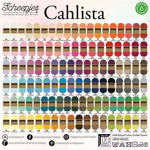 Cahlista (op bestelling kleurnr tot 500)