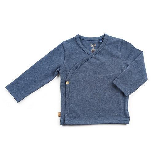 f&d wikkel shirt navy