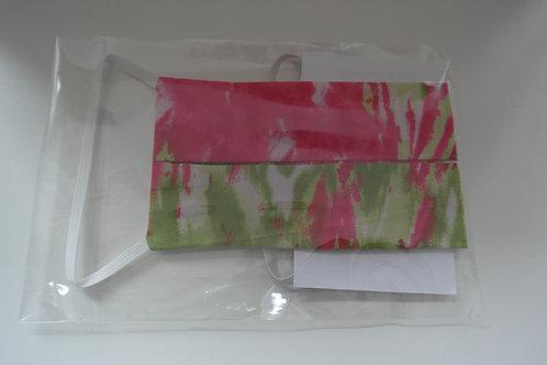 mondkapje groen roze