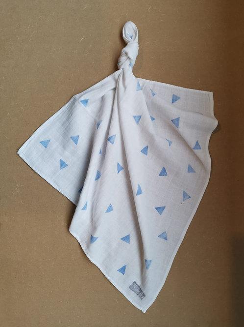 hydrofiel triangle blauw