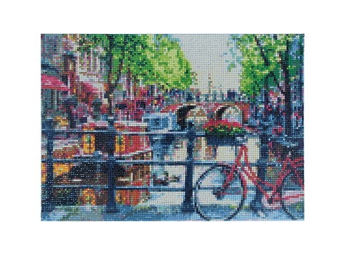 Diamond painting Amsterdam