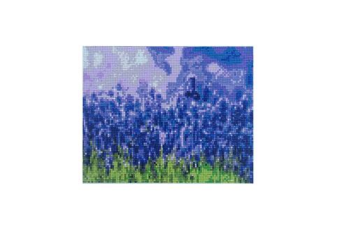 Diamond painting lavendel