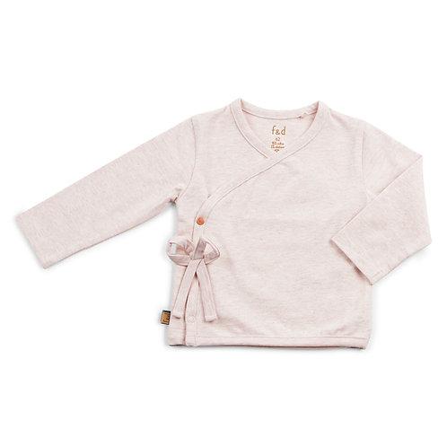 f&d wikkel shirt roze