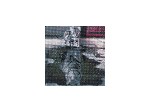 Diamond painting tijger