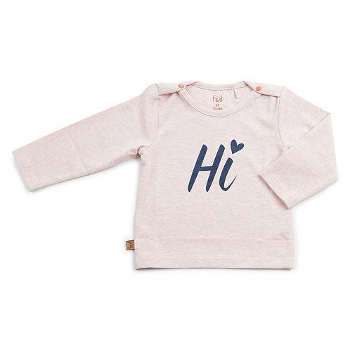 f&d shirt hi roze