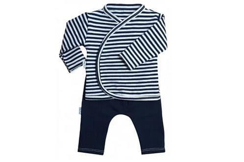 Set marine met blauwe broek maat 44