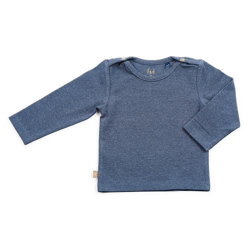 f&d shirt navy