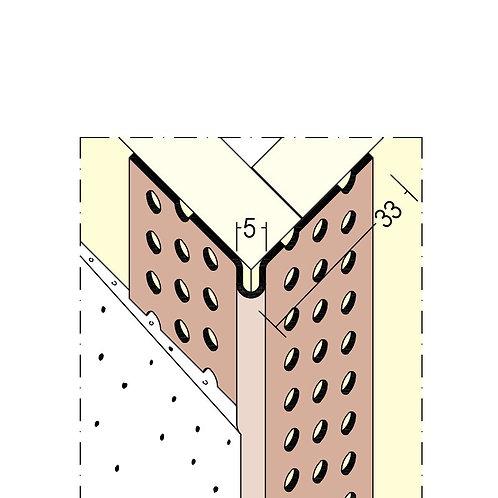 Hjørneliste (3 mm, avrundet kant)