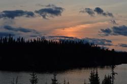 La pourvoirie s'étend sur 25 lacs