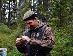 Pêche à la truite indigène