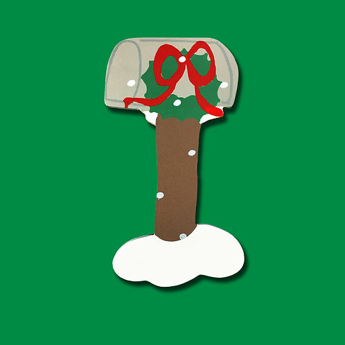 Wreath Mailbox 2014