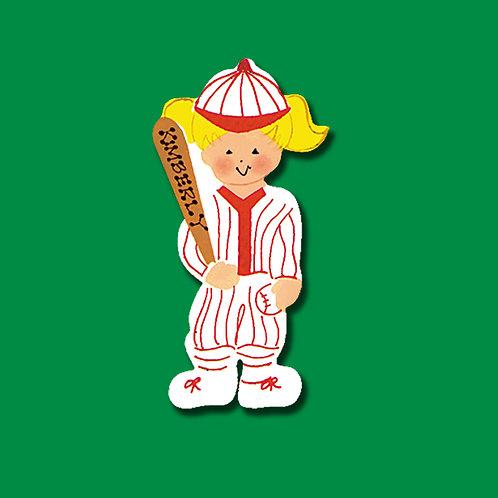 Baseball Girl 2073