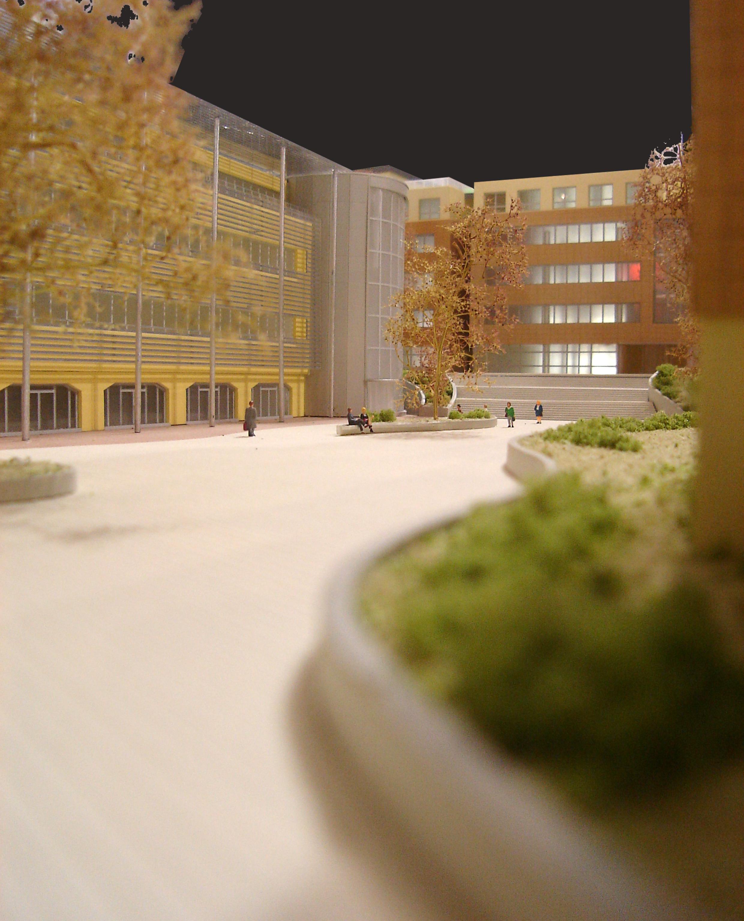 Metrocomplex  (ex area IBM) Milano