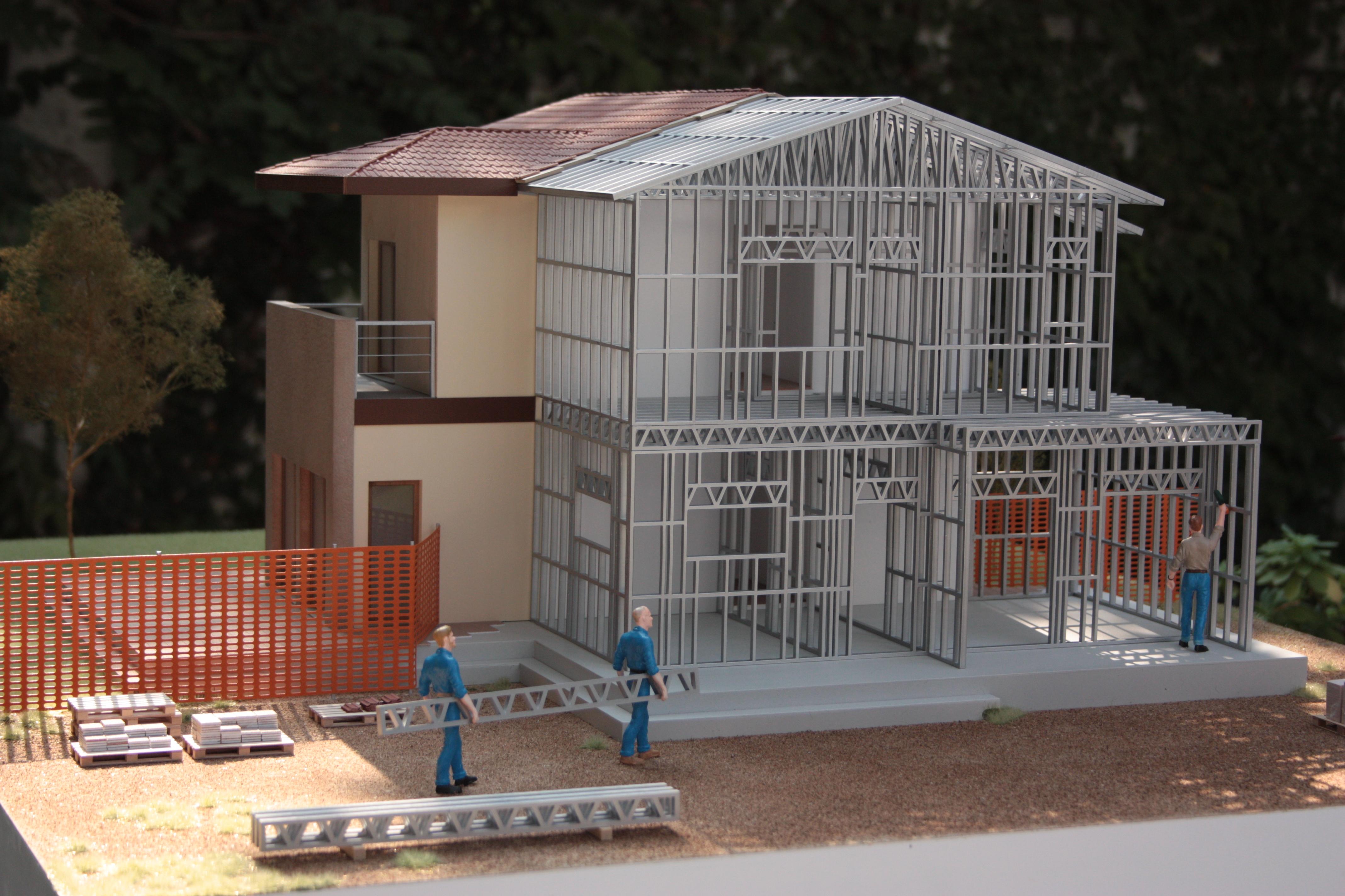 Sistema costruttivo SteelMAX