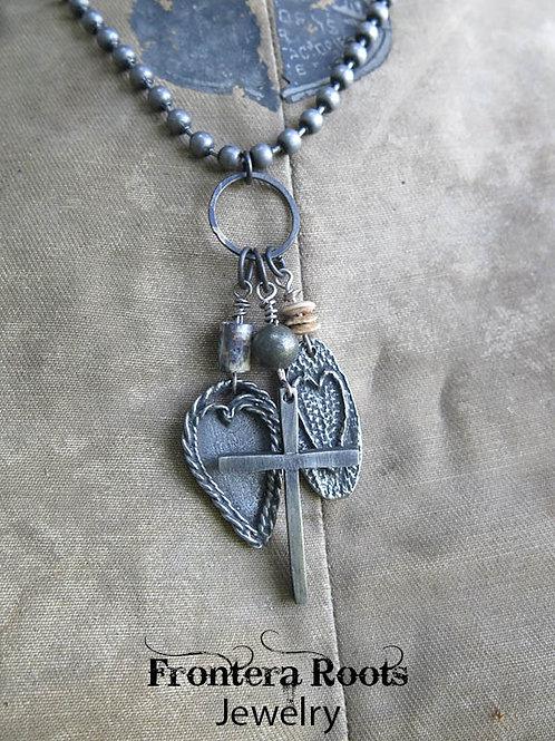 """Heart Beats"" Necklace"