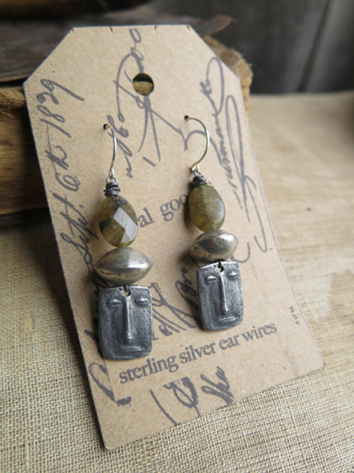 """Stonehenge"" Earrings"