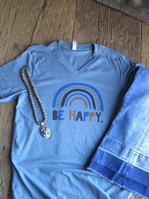 """Be Happy"" T Shirt"