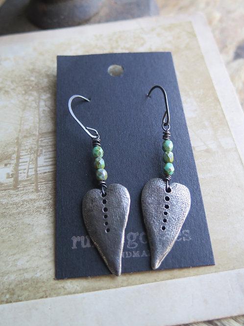 """""""Green Valley"""" Earrings"""