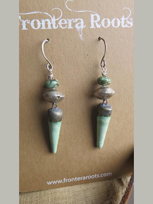 """She Loved the Sea"" Earrings"