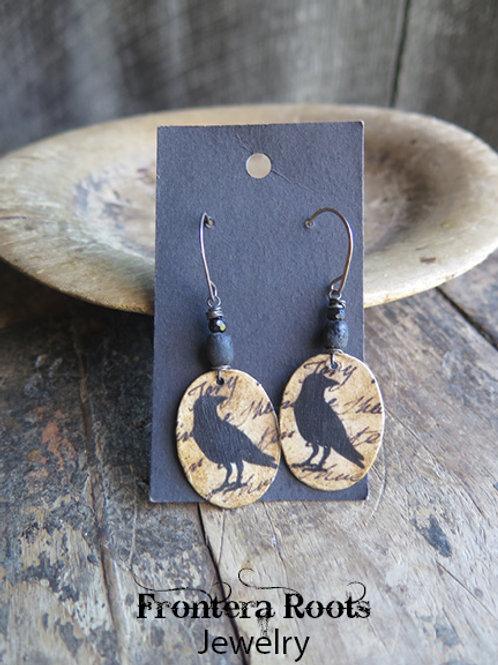 """""""Blackbird"""" Earrings"""