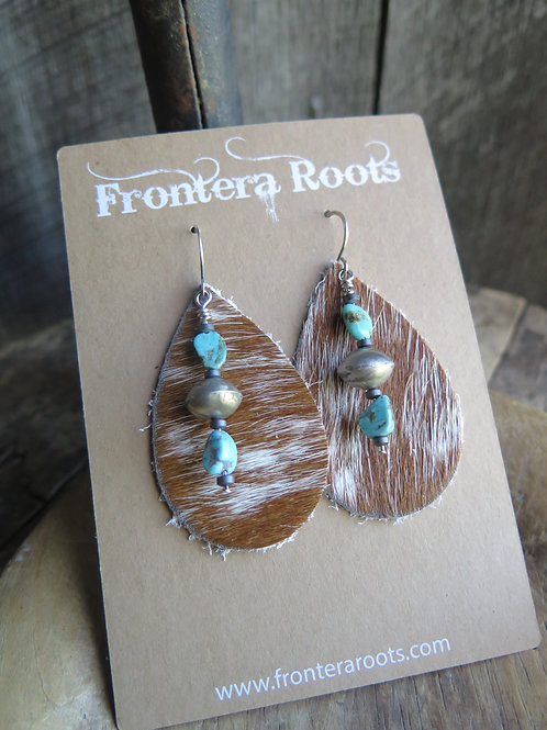 """""""Turquoise and Teardrops"""" Earrings"""