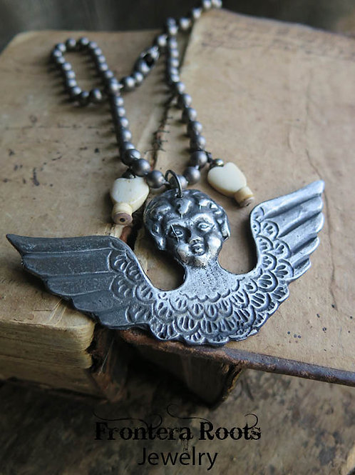 """Angel Wings"" Necklace"
