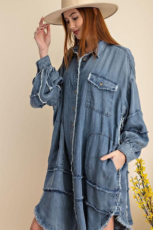 """Verona"" Top/Dress/Jacket"