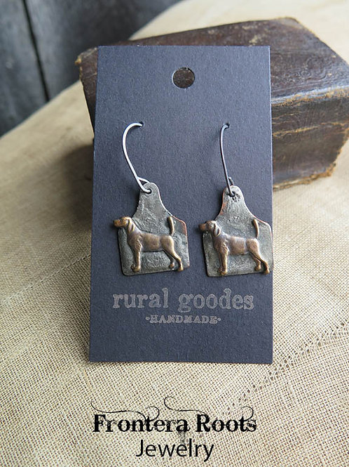 """Hound Dogs"" Earrings"