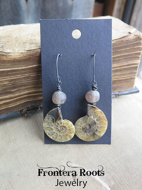 """""""Quarry"""" Earrings"""