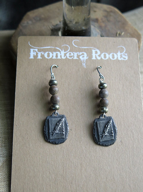 """""""Book &  Quill"""" Earrings"""