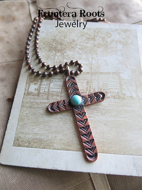 """Vintage Copper"" Necklace"