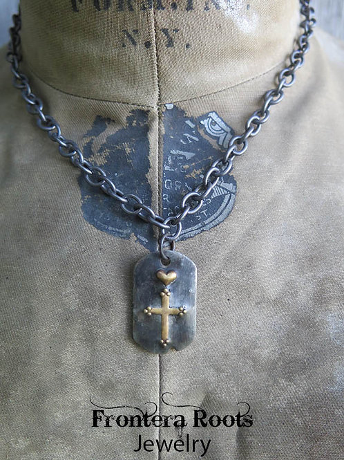 """""""The Meeting House"""" Necklace"""