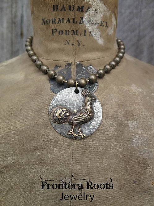 """Rooster"" Necklace"