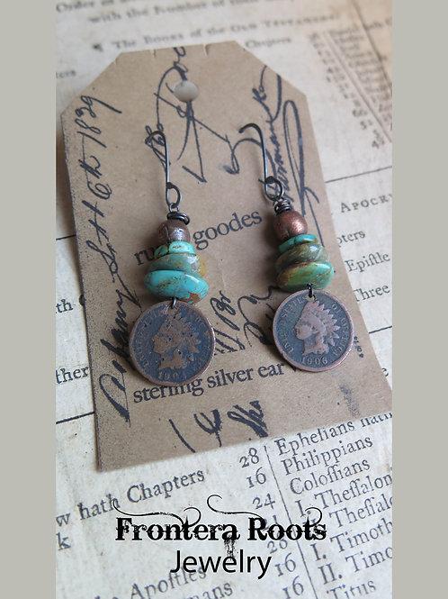 """Apache"" Earrings"