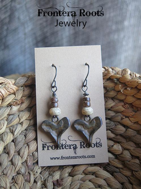 """""""Hearty"""" Earrings"""