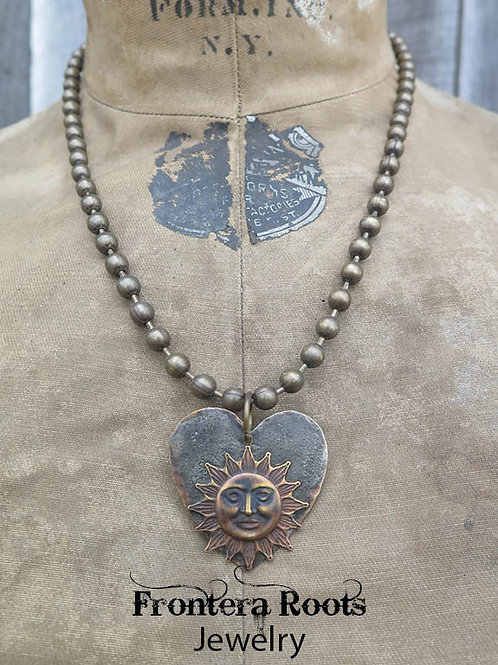 """Shining Heart"" Necklace"