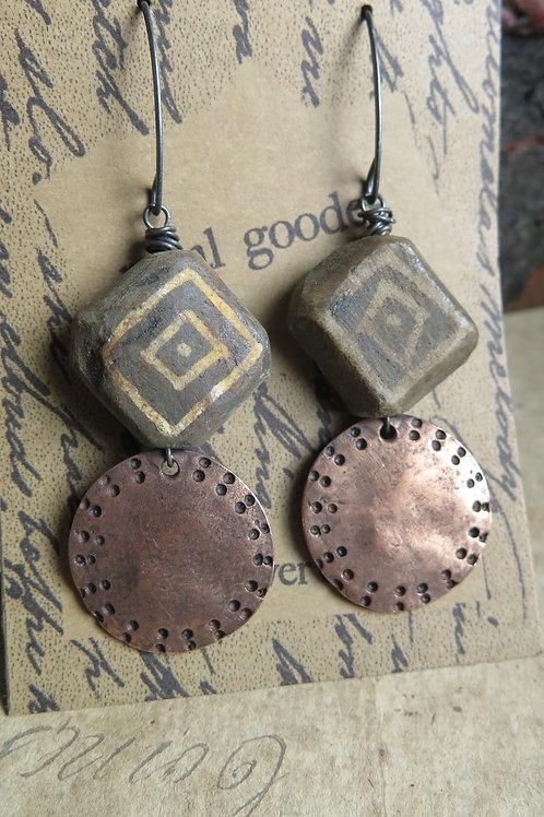 """Black Hills"" earrings"