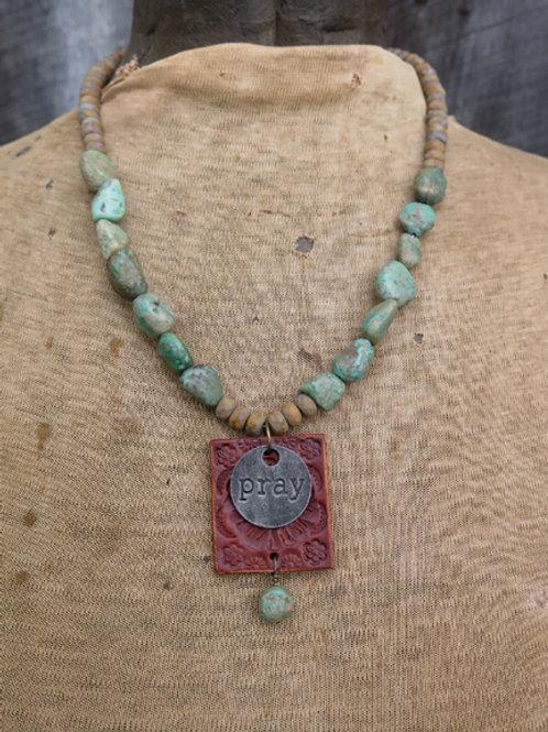 """Pray"" Necklace"