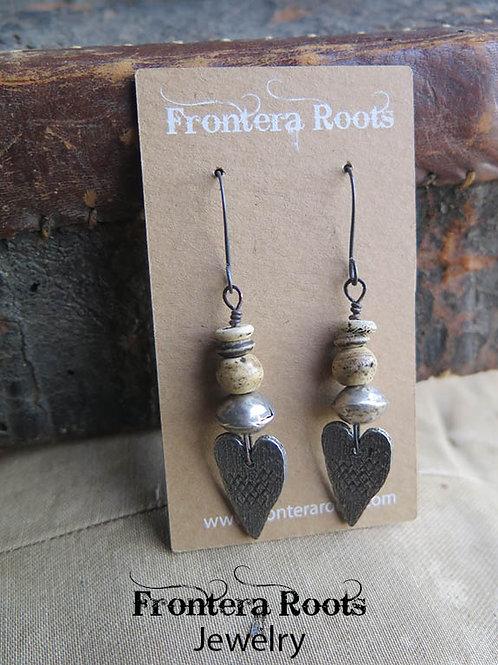 """""""Devotion"""" Earrings"""