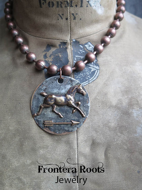 """Trotter"" Necklace"