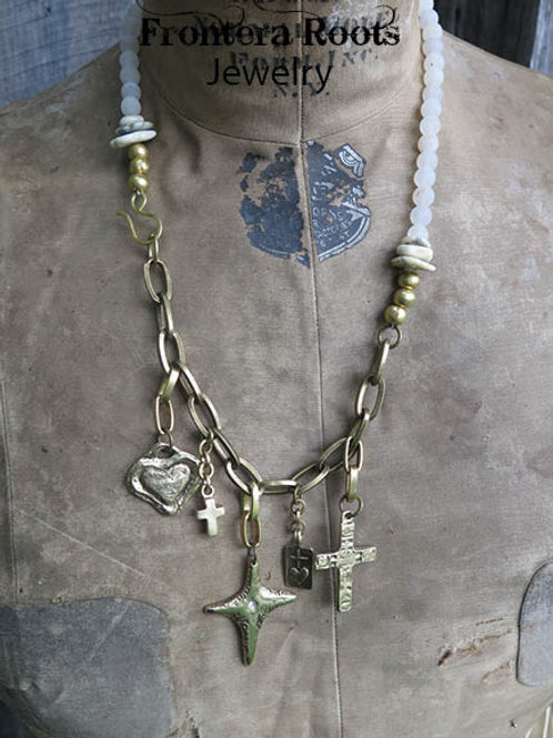 """""""Heart of Gold"""" Necklace"""