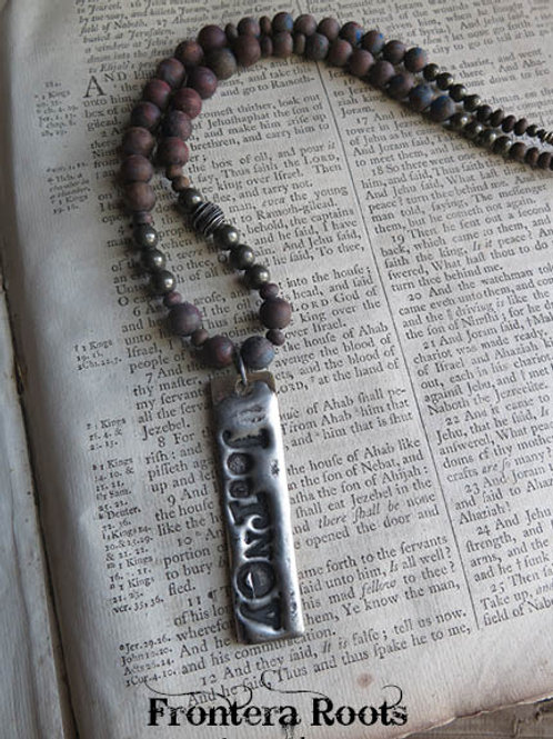 """""""Take the Back Roads"""" Necklace"""