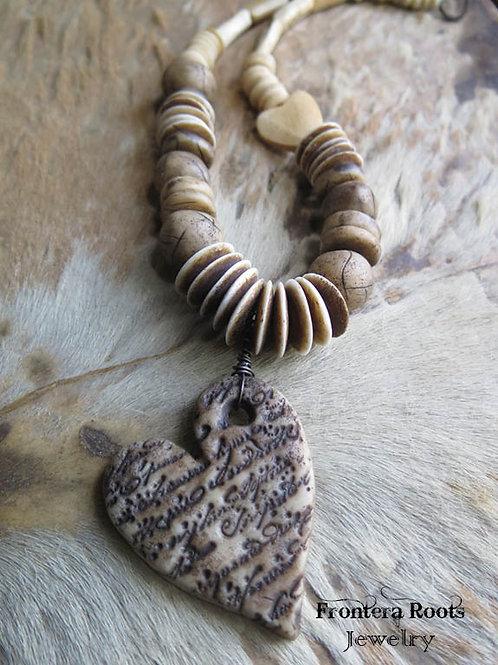 """""""Parchment"""" Necklace"""