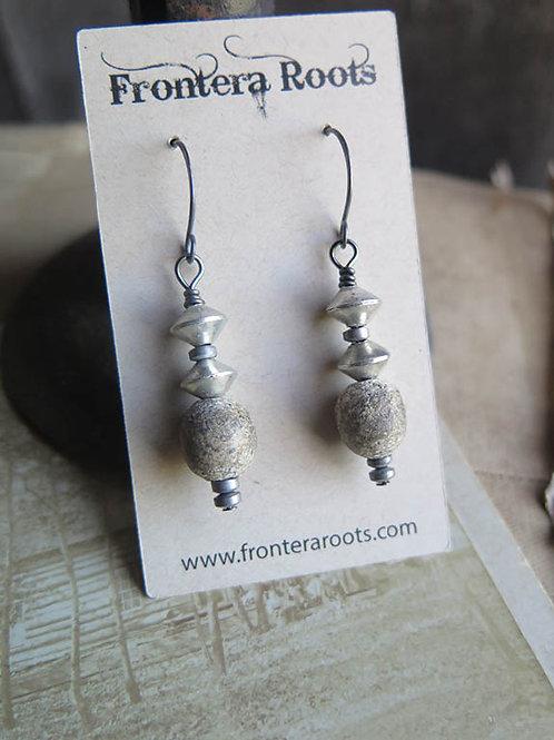 """Smoky"" earrings"