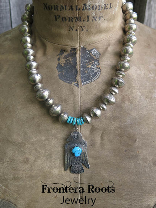 """Traditional Thunderbird"" Necklace"